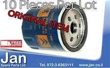 Lot of 10 ORIGINAL NEW Peugeot Citroen Oil filter 1109AL FREE SHIPPING WORLDWIDE