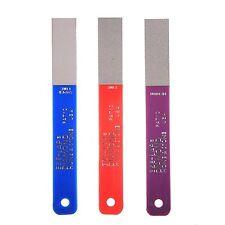 EZE-LAP 3pc Diamond Hones or Knife Sharpeners Set Lp3