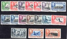 Falkland Islands 1938-50 mmint SG146-162 Cat £460++
