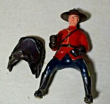 Vintage Royal Canadian Mounted Police Celluloid Plastic Reliable Figure 6.25""