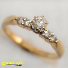 Diamond 14k Multi-Tone Gold Fine Rings