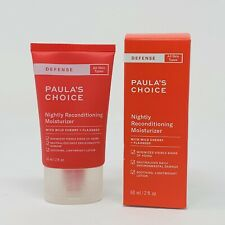 Paula's Choice DEFENSE Nightly Reconditioning Moisturizer 60 ml/2 fl oz Sealed