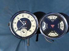 1930-1950 Alvis Instruments w/clock 1931-1940's-50 Alvis part.