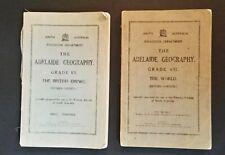 The Adelaide Geography - Grade 6 British Empire - Grade 7 World - pb - 1940/41