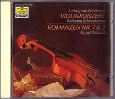 Wolfgang SCHNEIDERHAN: BEETHOVEN Violin Concerto Romance PDO CD OISTRAKH JOCHUM