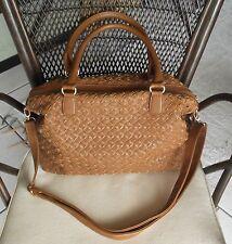 Tasche Shopper Schultertasche Handtasche YSTRDY Vintage Braun
