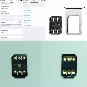 Universal Unlock Turbo 4G Unlocking SIM Card For iPhone X 8 7 6S 6 Plus LTE iOS