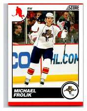 (HCW) 2010-11 Score Glossy #220 Michael Frolik Panthers Mint