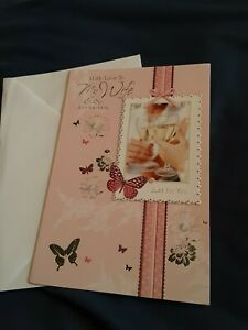 Wife anniversary Card NEW - butterflies