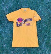Vintage 1985 NBA Los Angeles Lakers Champion T-Shirt Size Medium