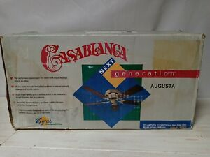 Vintage Casablanca ceiling fan Stylr Augusta Next Generation Model NG05PB Unique