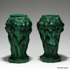 Vase Green Date-Lined Glass (Blown Glasses)