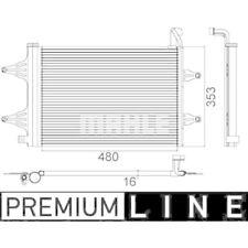 1 Condenseur, climatisation MAHLE AC 359 000P BEHR *** PREMIUM LINE ***