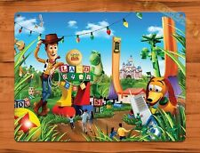 Tin Sign Disney Toy Story Land Movie Attraction Ride Art Poster