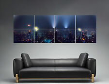 BLADE RUNNER Panorama Night City Poster PAINTING STYLE 168cm X 59,4CM