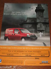 *AP18= FIAT DOBLO' CARGO=PUBBLICITA'=ADVERTISING=WERBUNG=COUPURE=
