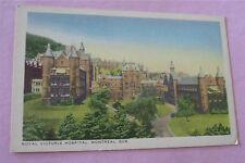 Vintage Postcard ~ Royal Victoria Hospital Montreal QC Canada  #2