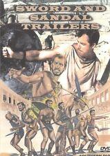 SWORD & SANDAL TRAILERS DVD Hercules Ceaser Peplum 26 Trailers Italian Action