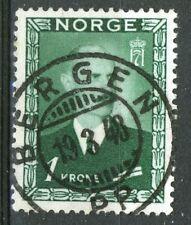 Norway 1946, NK 350 Son Bergen P.P. 19-3-48 (HO)