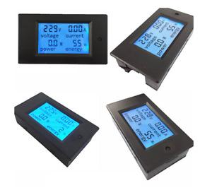 Digitales Multi-meter, Voltmeter / Amperemeter, AC 80~260V, 0~20A