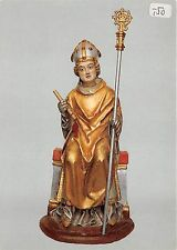 BG5748 bad neuenahr st willibrord  holzfigur  germany