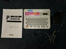 Brother P Touch Electronic Label System Model Pt 10