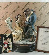 Giuseppe Armani Disney Beauty and the Beast Figurine 0543C in Box