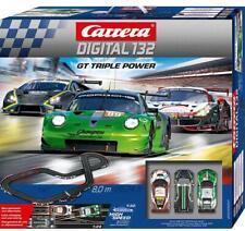 Carrera Digital 132 GT Triple Power Circuit voiture de course 8 mètres 20030007