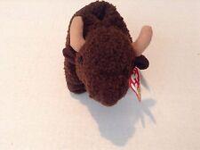 Ty Beanie Baby Original Roam Bison