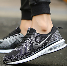 Homme Femme Air Sneakers Fitness Chaussures Baskets sport Casual Gym MAX Noir 40