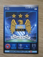 Champions League 2014/15 Club Badge card of Manchester City