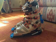 Black Diamond Stiletto Women's Telemark Boots Size 24.0 and Telemark bindings!