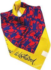 Vivienne Westwood Japan Ltd Cotton Scarf Orb Monogram & Signature Logo-58cm