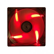 ITEK VENTOLA PER CASE XTREME FLOW . 12CM, LED ROSSO 3+4PIN, SILENSIOSA