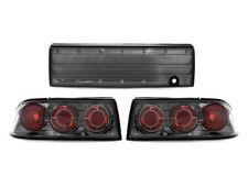 Euro Gunmetal Altezza Rear 3 Pieces Tail Lights For 92-94 Mitsubishi Eclipse