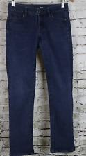 LOFT JEANS Skinny Medium Wash Low Rise Stretch 26/2P Curvy Straight 28x28 MINT