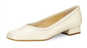 Brautschuhe Ballerinas Hochzeitsschuh Fiaruci Kim ivory echt Leder Wedding Shoes