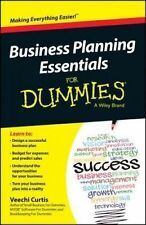 NEW Business Planning Essentials For Dummies by Veechi Curtis