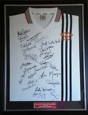 M Surname Initial Signed Retired Player Football Shirts