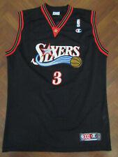 Canotta AUTHENTIC CHAMPIONS IVERSON PHILADELPHIA 76ers NBA maglia jersey trikot