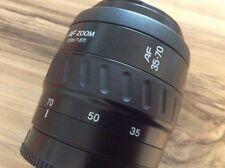 Per Sony DSLR SLT-Minolta 35-70 mm f/3.5-4.5 obiettivo AF-formato pieno-bene!