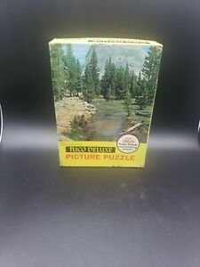 Vintage Tuco Work Shops Picture Puzzle Jigsaw Yosemite