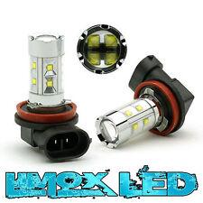 2x H11 Cree LED Nebelscheinwerfer Birnen 650 Lumen AUDI A1 A3 8P A4 S4 B6 B7 B8