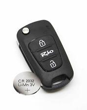 fits Kia Rio 2 Button KEY FOB REMOTE CASE Shell + CR2032 battery