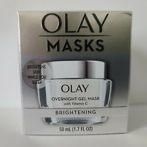 Olay Masks Overnight Gel Mask with Vitamin C BRIGHTENING Hydrating 1.7oz NEW