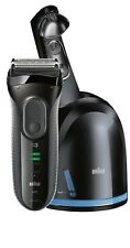Braun Series 3 3050cc Men Shaver Grey With Clean&Charge System SensoFoil