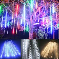 Meteor Shower Falling Star Rain Drop Icicle Snow Fall LED For XMAS String Lights