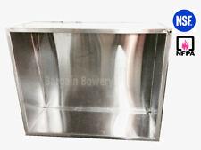 132 X 36 11 Ft Type 2 Condensate Steam Hood Heat n Fume Hood Brewery Hood