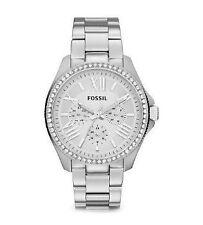 Fossil Quarz - (Batterie) Armbanduhren aus Edelstahl für Damen