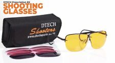 Rx Shooting Glasses Trap And Skeet Sporting Clays. 3 Rx Poly Lens Sets.